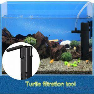 Filter Pancuran Unik untuk Akuarium Kura-kura