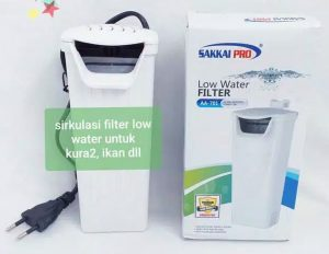 Filter Aquarium Kura-kura dengan Model Seperti Air Terjun
